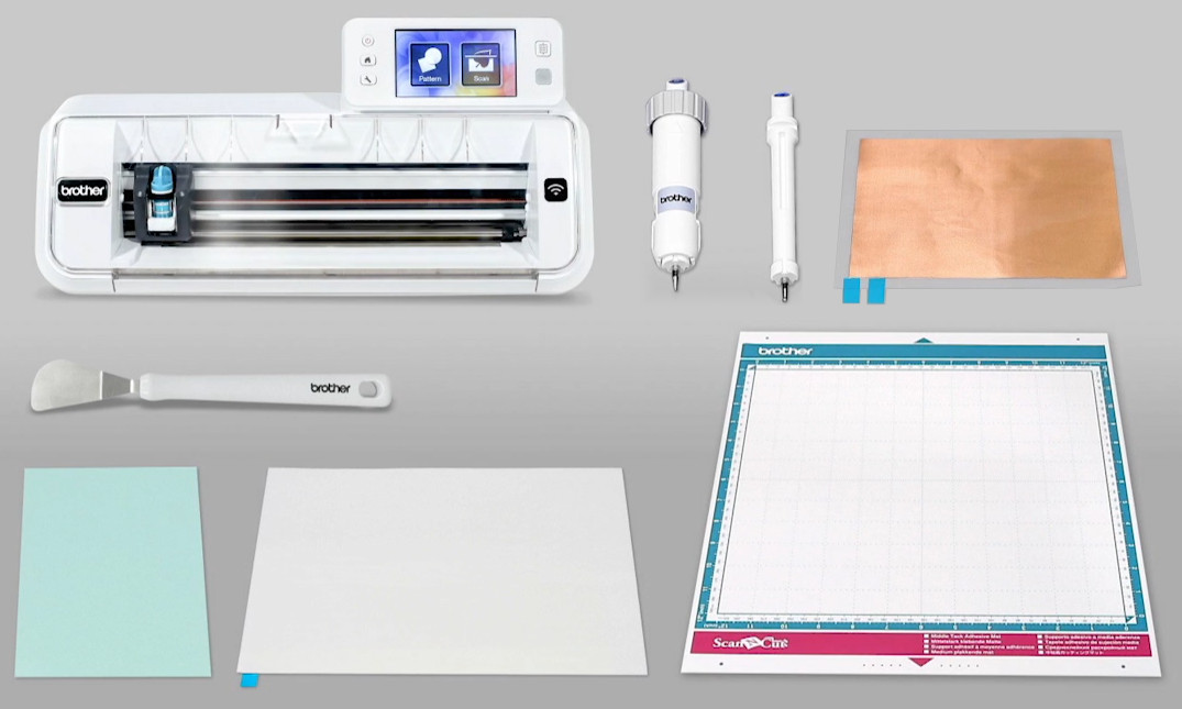 Brother ScanNCut Embossing Starterkit