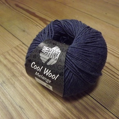 Cool Wool - donkerblauw